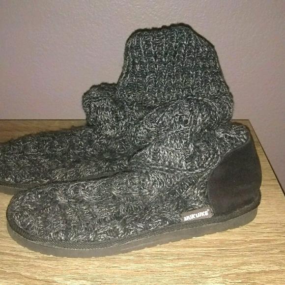 Mukluk slouchy sweater boots